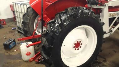 calcium chloride in tractor tires